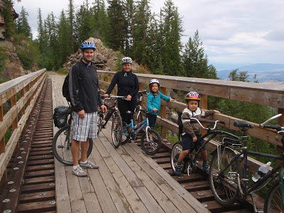 16 Myra Canyon  KVRKettle Valley Railway  Lets Go Biking