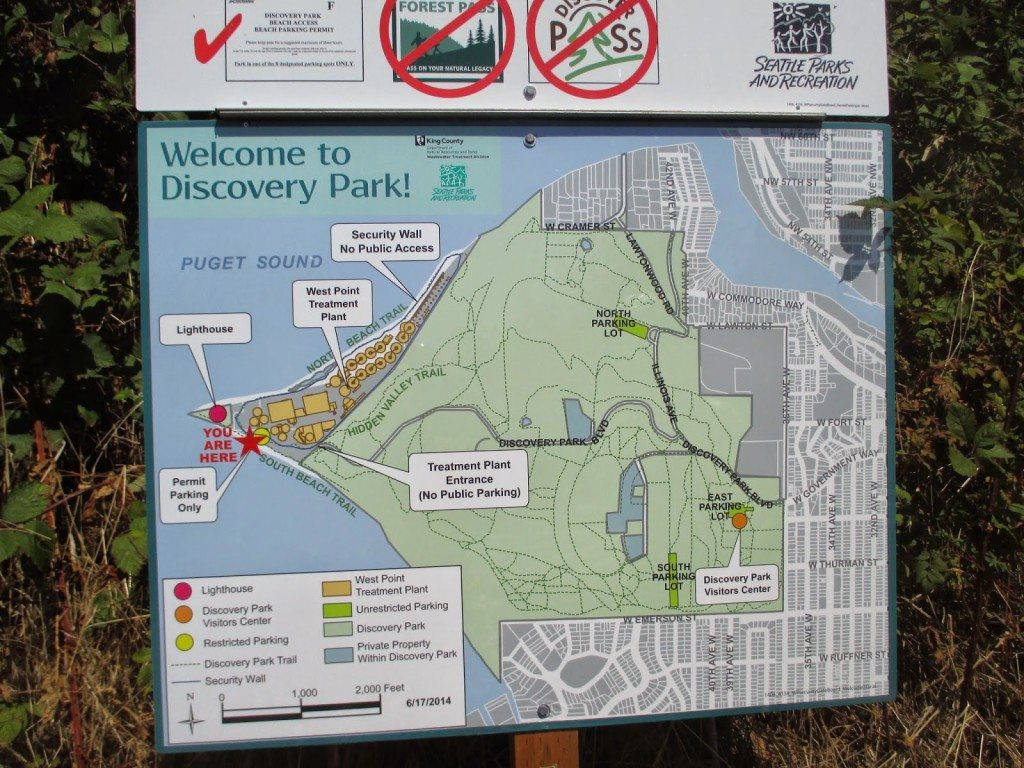 Discovery Park Loop and Ballard Locks – Let's Go Biking! on