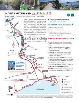 Delta Watershed – Let's Go Biking! on